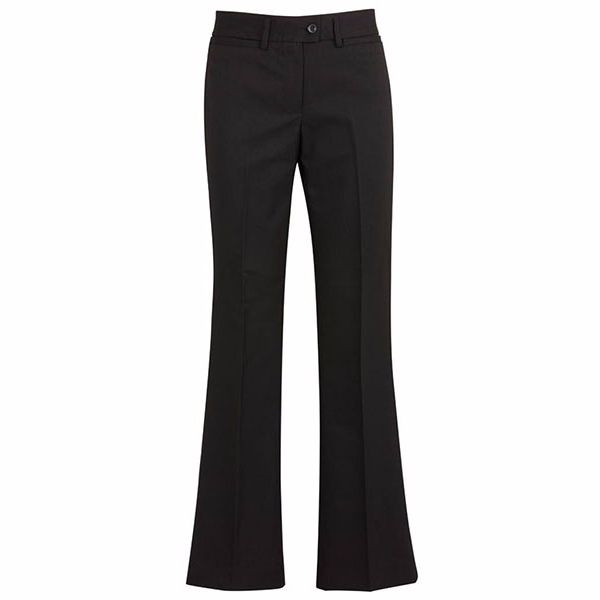 Ladies Relaxed Fit Bootleg Pant - 10114