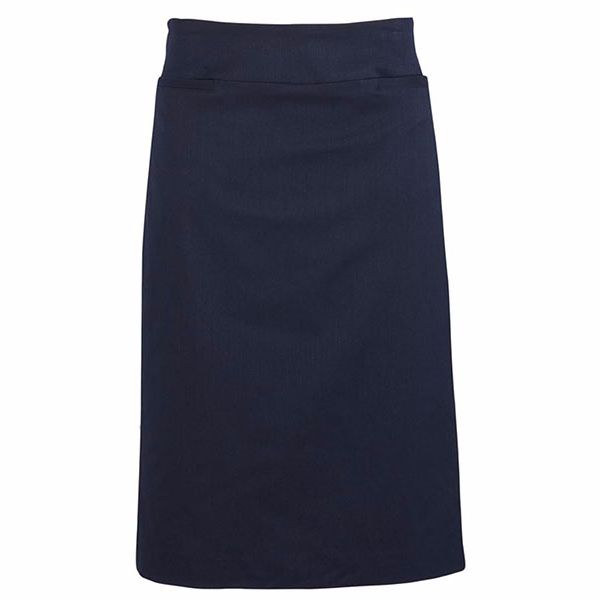 20111_navy relaxed fit lined skirt