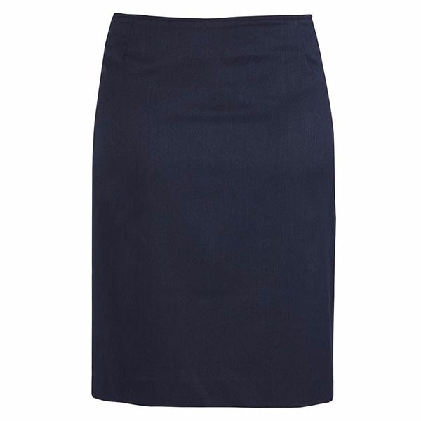 20112_navy bandless lined skirt