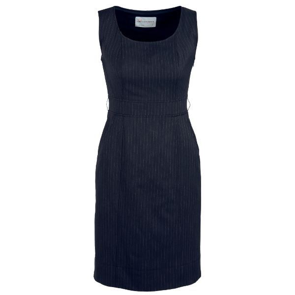 30211_Navy_Sleeveless_Side_Zip_Dress