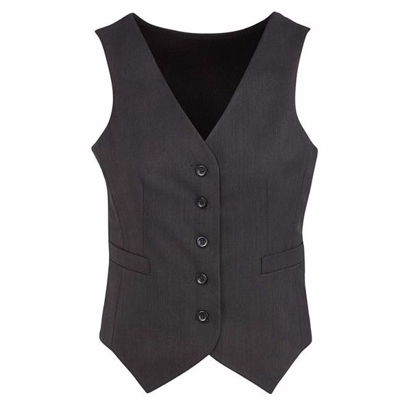 50111_charcoal cs peaked vest knitted back