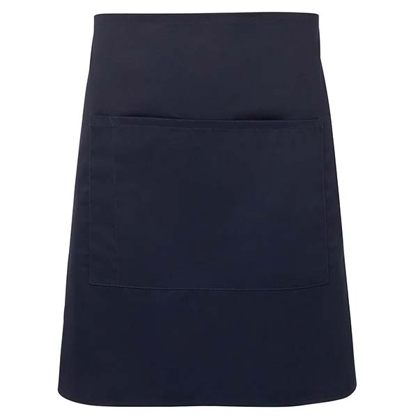 Half Apron With Pocket - 5A - Navy