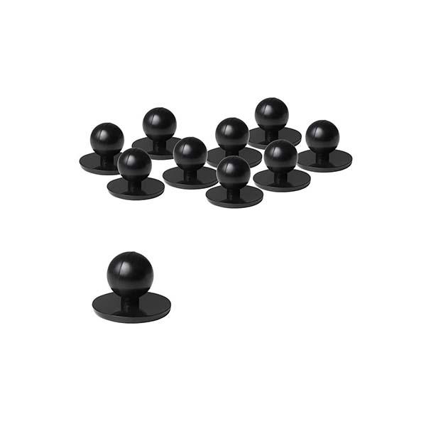 Chef's Button - Style 5BT - Black