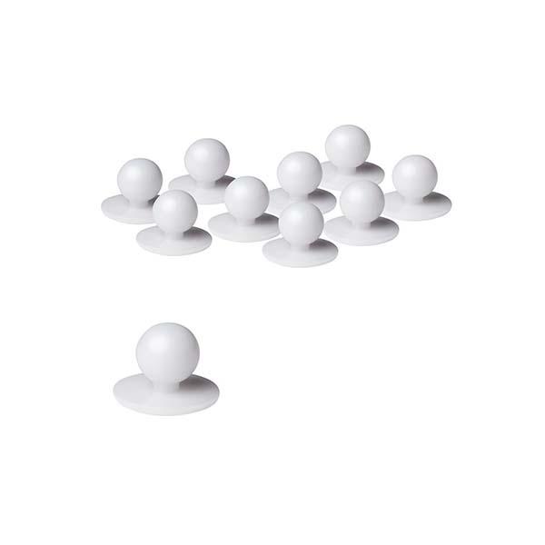 Chef's Button - Style 5BT - White