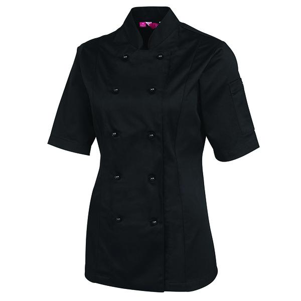 Ladies S/S Chef's Jacket - 5CJ21