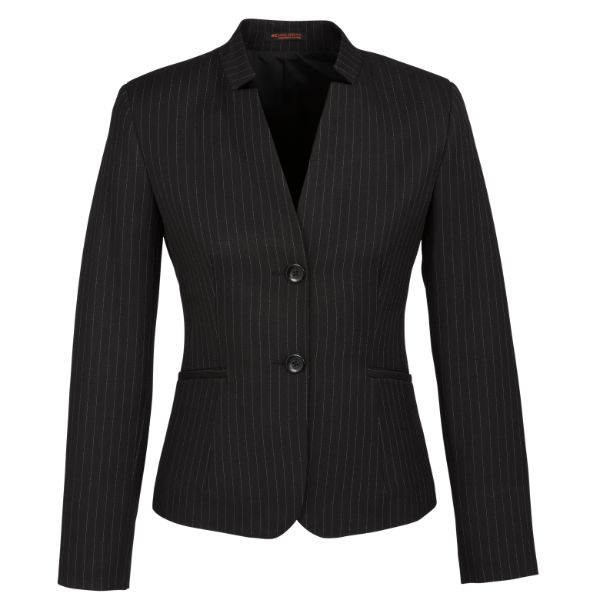 Ladies Short Jacket - Reverse Lapel - Style 60213