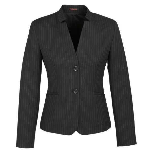 60213_Charcoal_Short_Jacket_with_Reverse_Lapel