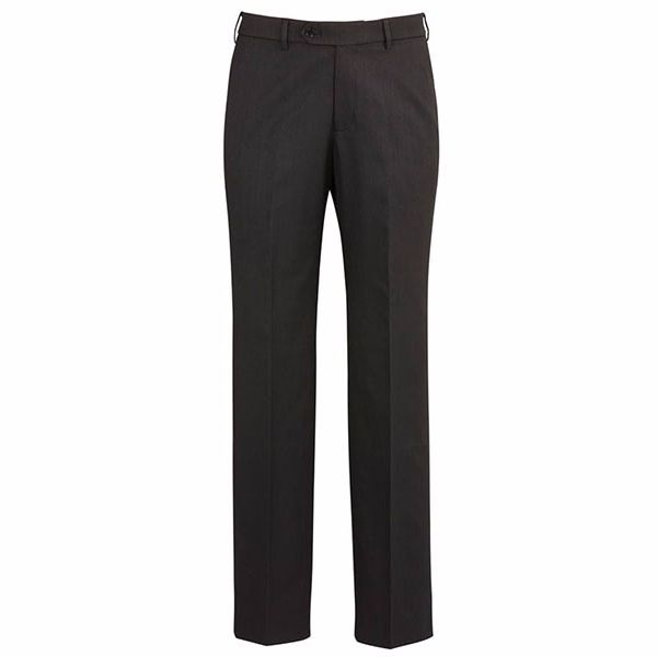 70112_charcoal flat front pant