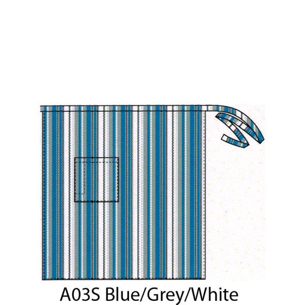 3/4 Stripe Apron with Pocket - A03S