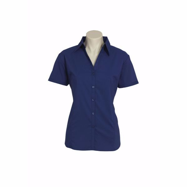 LADIES METRO SHORT SLEEVE SHIRT - LB7301