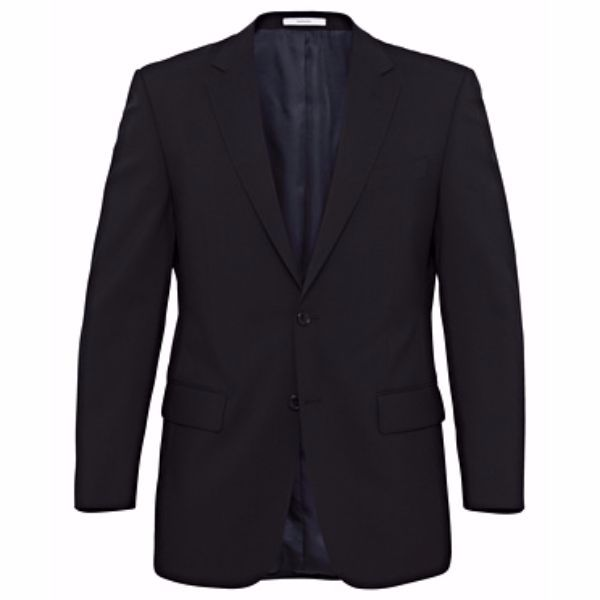 CLASSIC FIT MEN'S SUIT JACKET - VCJM08 - BLACK