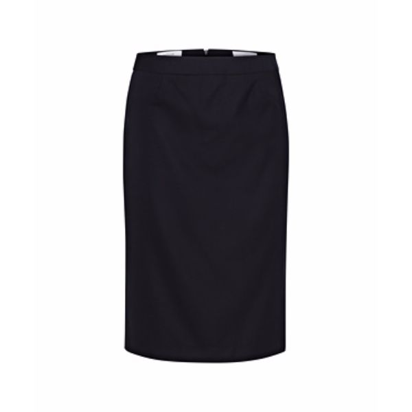 High Twist Wool Rich Box Pleat Skirt - VESWW89