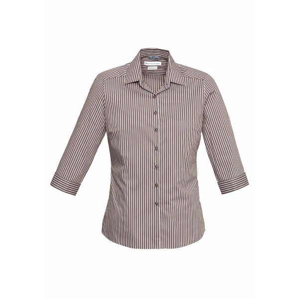 LADIES ZURICH 3/4 SLEEVE SHIRT - S416LT