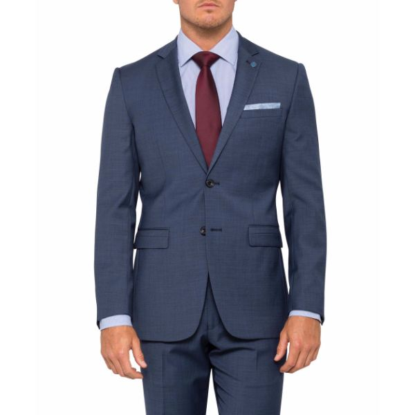 Slim Fit Navy Suit Jacket - PJ930