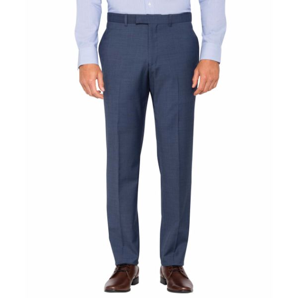 Slim Fit Navy Suit Trouser - PT930