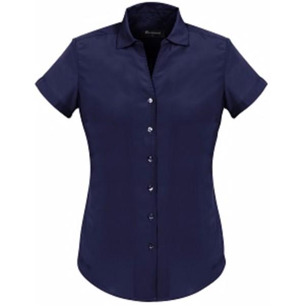 1c527e62bd7 Solanda Ladies Plain Short Sleeve Shirt-40412