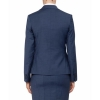 Van Heusen Womens Classic Suit Jacket - BACK - NAVY