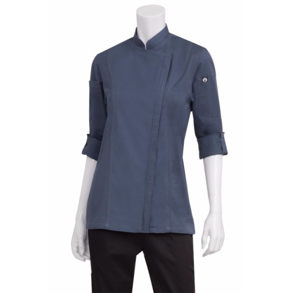 HARTFORD WOMEN'S CHEF JACKET-BCWLZ005