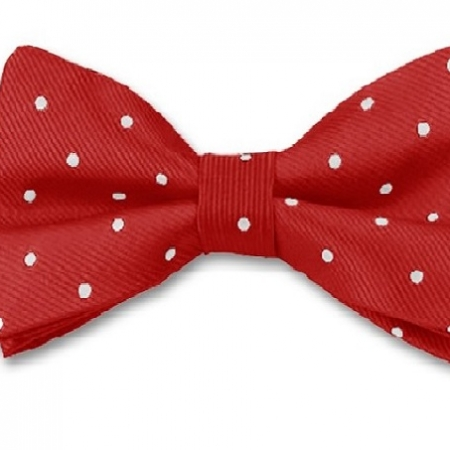 red-and-white-spot-bow-tie