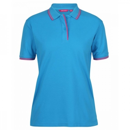 Ladies Contrast Polo - Style 2LCP