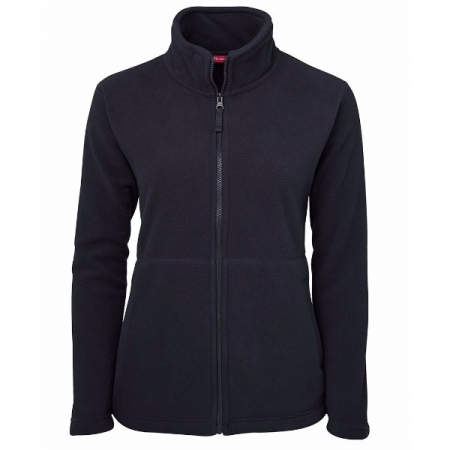 Ladies Full Zip Fleece Jacket - Style 3FJ1 - Navy