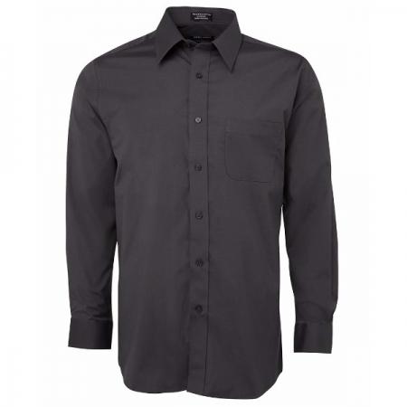 Urban Mens L/S Poplin Shirt - Style 4PUL
