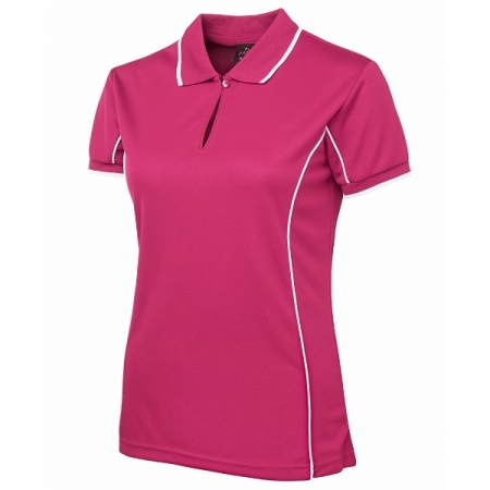 Ladies Piping Polo - Style 7LPI