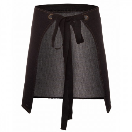 Waist Denim Apron (Including Strap) 5ADW - Black