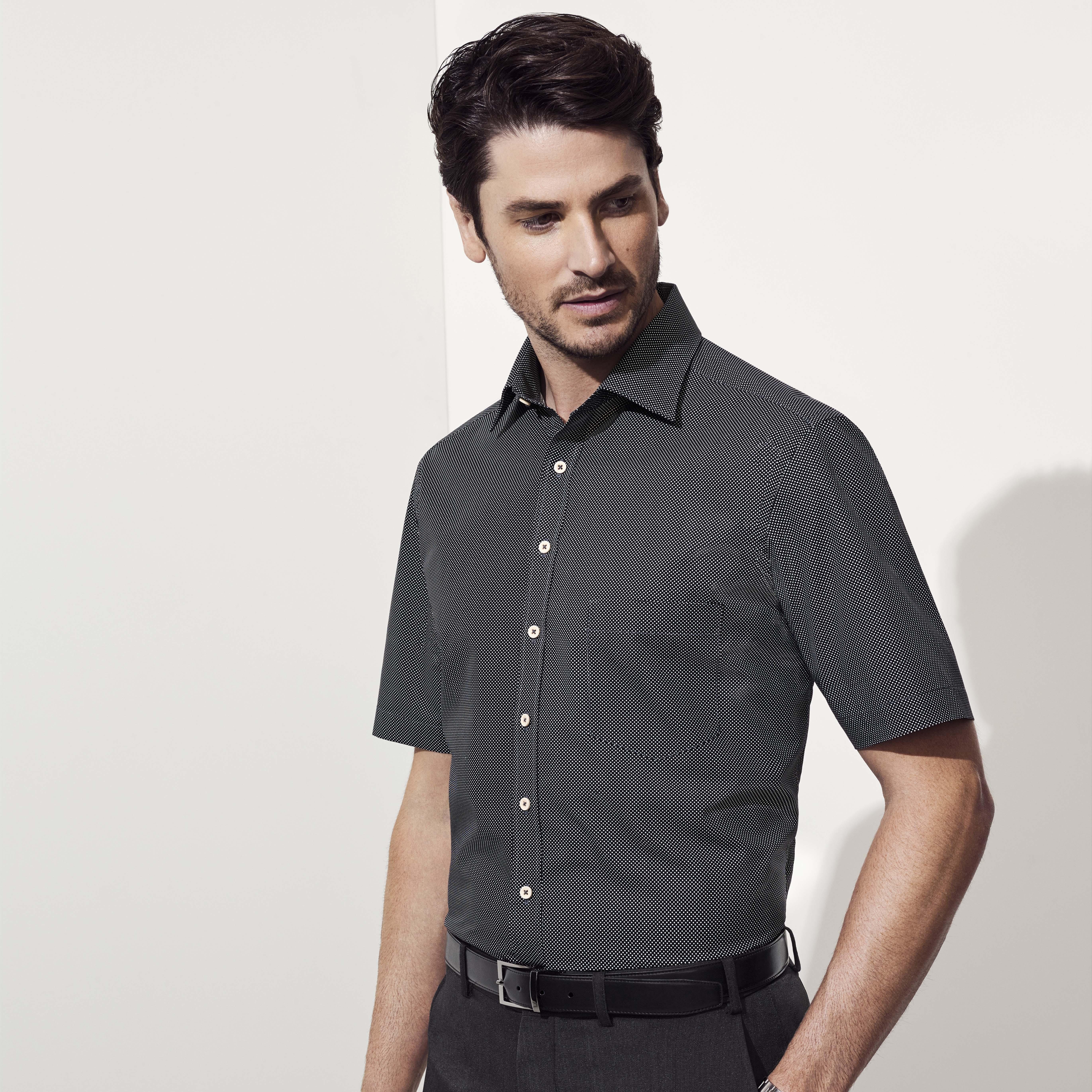 Mens Oscar Short Sleeve Shirt 44522 Hospitality