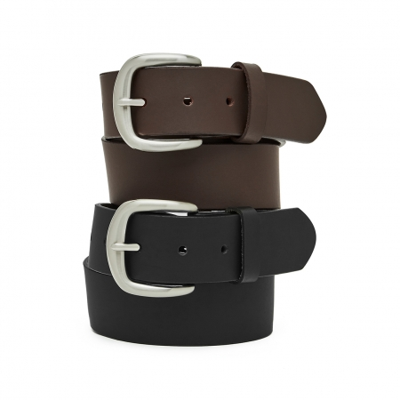 """CASSIDY"", 38MM, FULL GRAIN BUFFALO MEN'S LEATHER BELT"