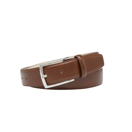 """BASQUE"", 35MM, MEN'S LEATHER BELT - BASQUE35 - 5120"