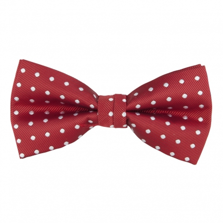 BOW TIE, SPOT, RED